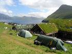 knus campingkje, noord Faroer